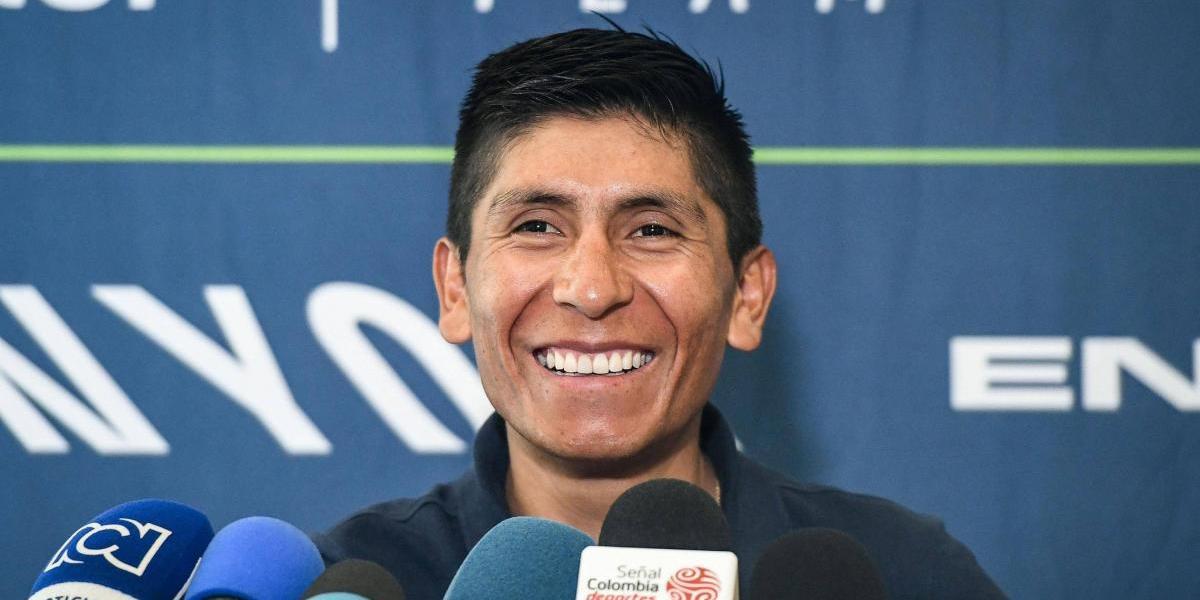 Nairo Quintana habló de los problemas estomacales de Dumoulin