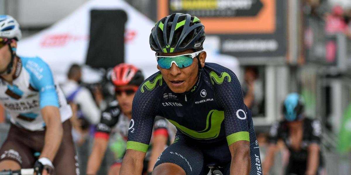 Dumoulin aflojó y Nairo Quintana quedó cerca del liderato del Giro