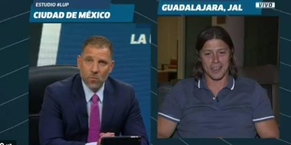 VIDEO: Matías Almeyda trollea a Alberto García Aspe en programa en vivo