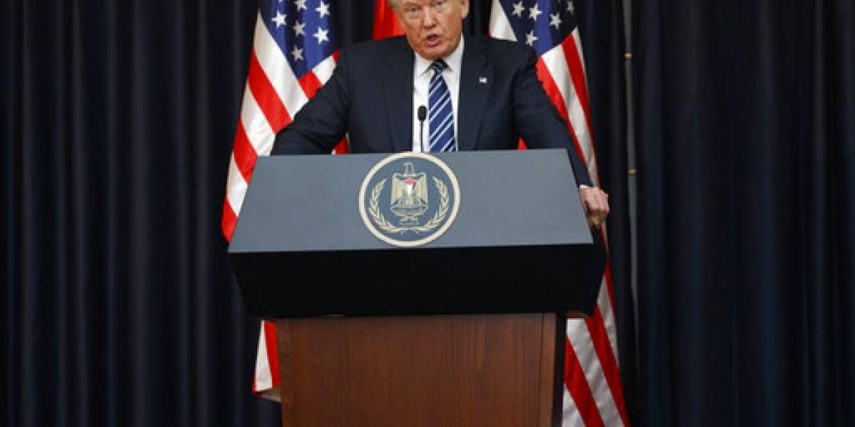 Trump condena bomba en Manchester