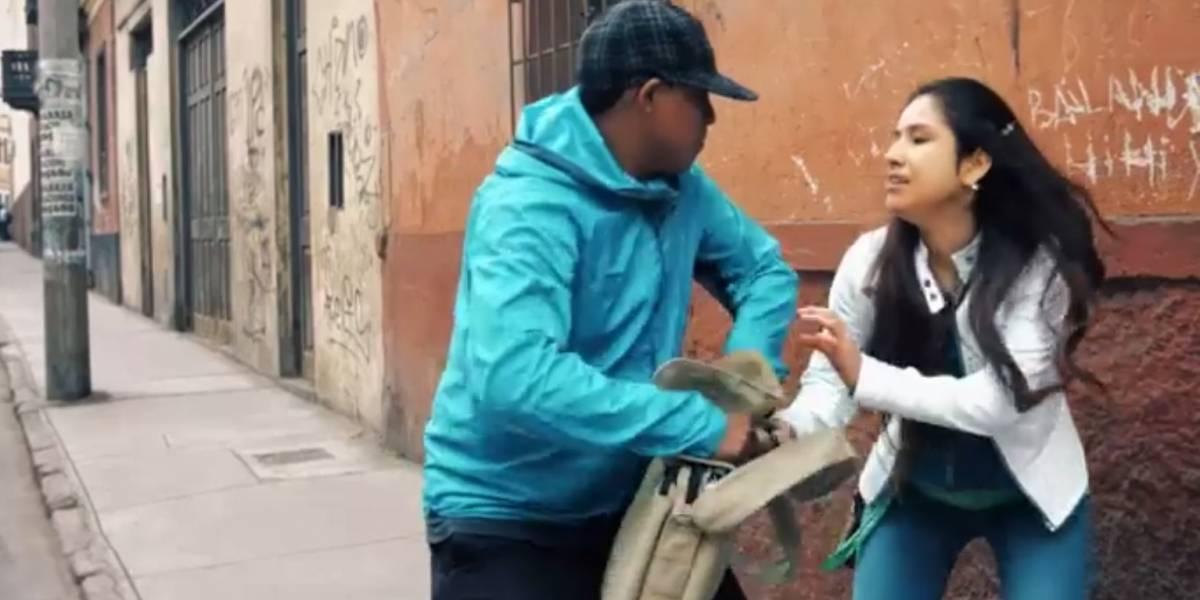 Instalan botones de pánico en las calles para combatir la delincuencia