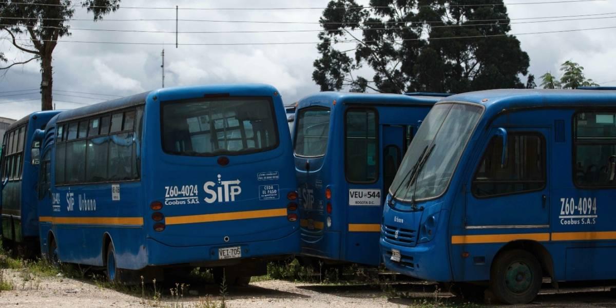 Delincuentes golpearon brutalmente a conductor del Sitp en el sur de Bogotá