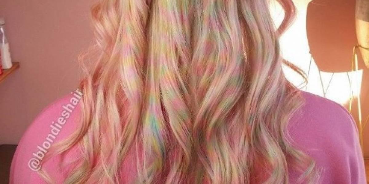 Confetti, la nueva tendencia para cabello que arrasa entre las mujeres