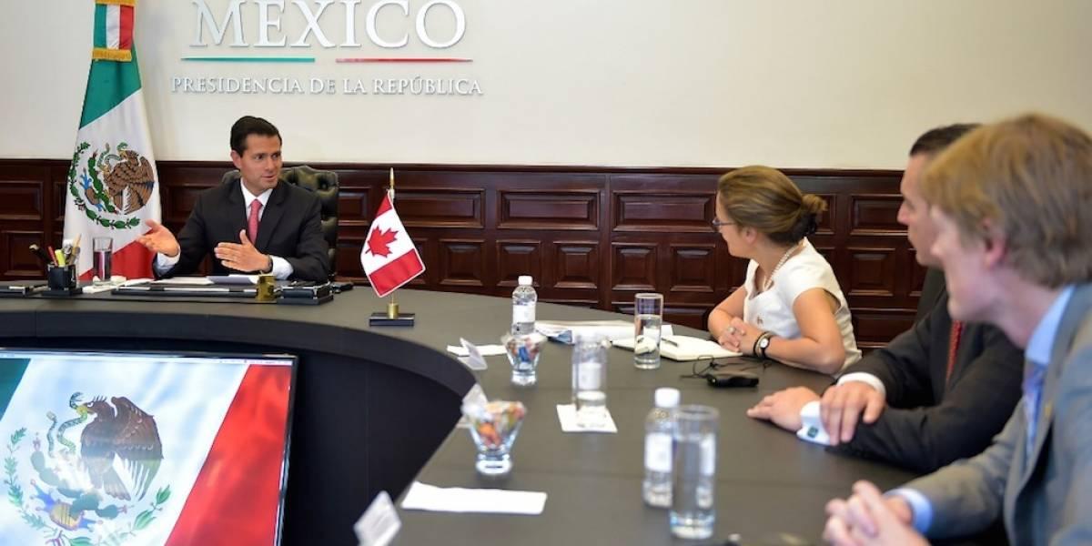 Celebran México y Canadá buen momento de la relación bilateral
