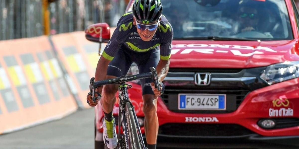 Nairo va a la caza de Dumoulin en el remate del Giro de Italia 2017