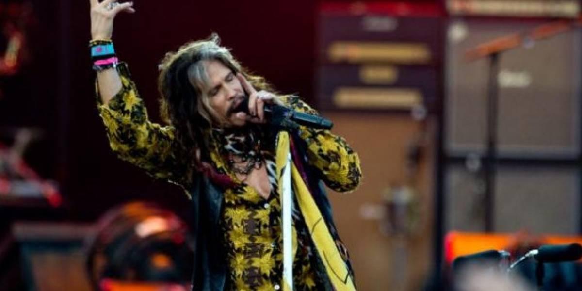 Aerosmith cancela conciertos Suramérica por enfermedad de Tyler