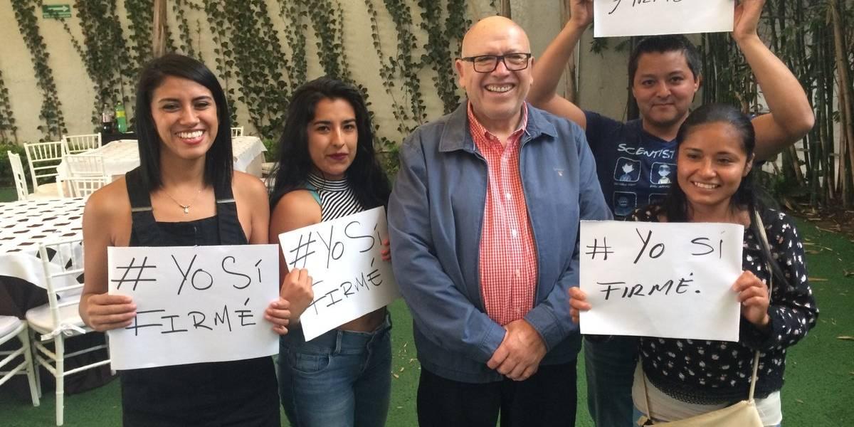 Isidro Pastor ofrece apoyo a Delfina Gómez