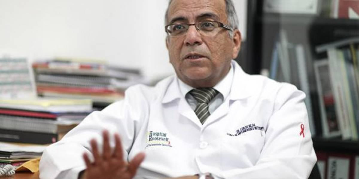 Muere jefe de Infectología del Hospital Roosevelt en zona 2 por una bala perdida