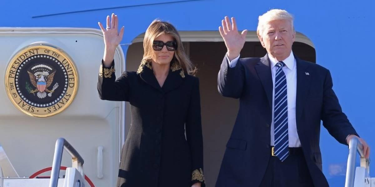 Trump llega a Roma para reunirse con el papa Francisco