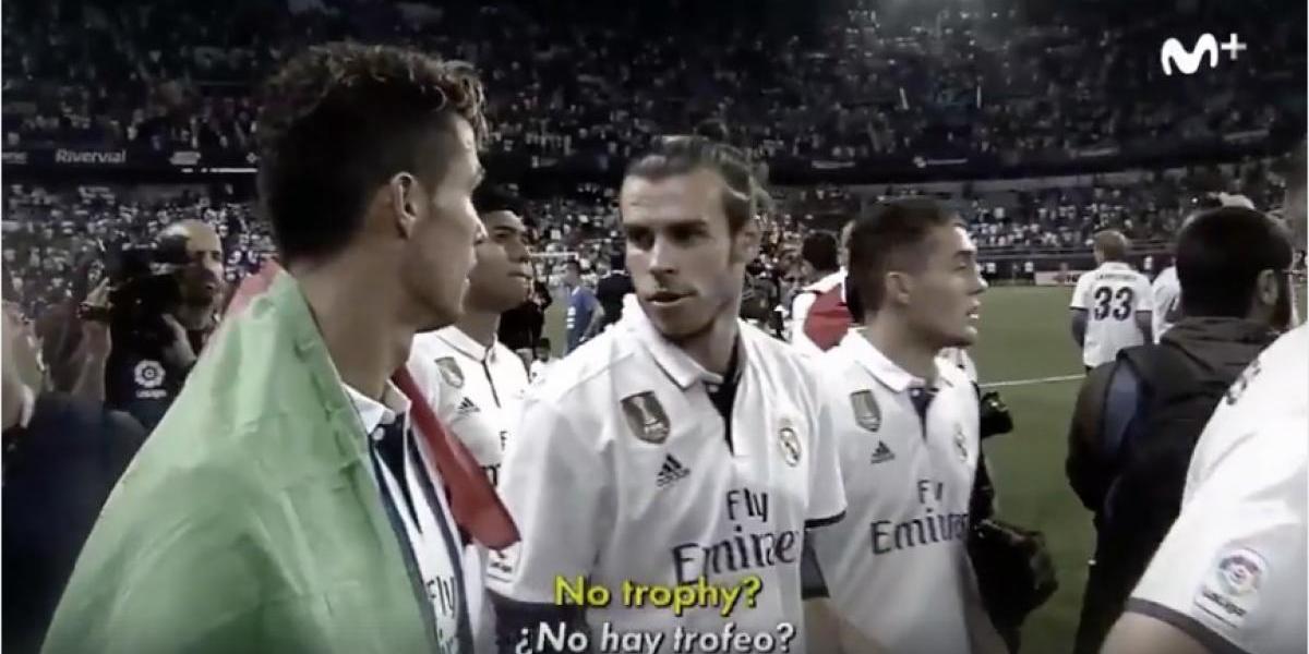 VIDEO. Las imperdibles caras de Modric y Bale porque no hay trofeo