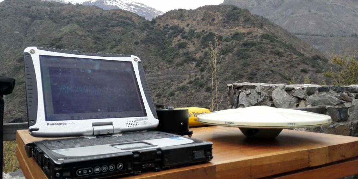 """Con GPS y sismógrafos buscarán """"por primera vez en la historia"""" desvelar los secretos de la falla de San Ramón"""