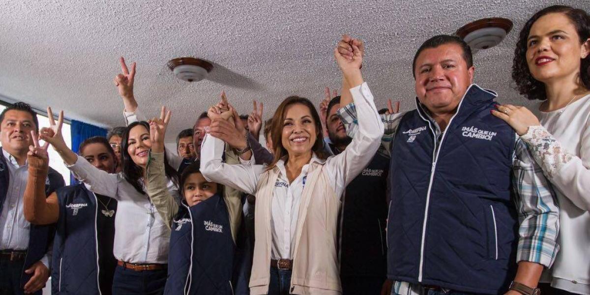 Ex militantes del PES se suman a campaña de Josefina