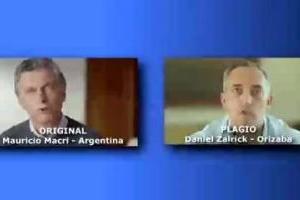 Candidato a alcalde de Orizaba copia íntegro spot de Mauricio Macri