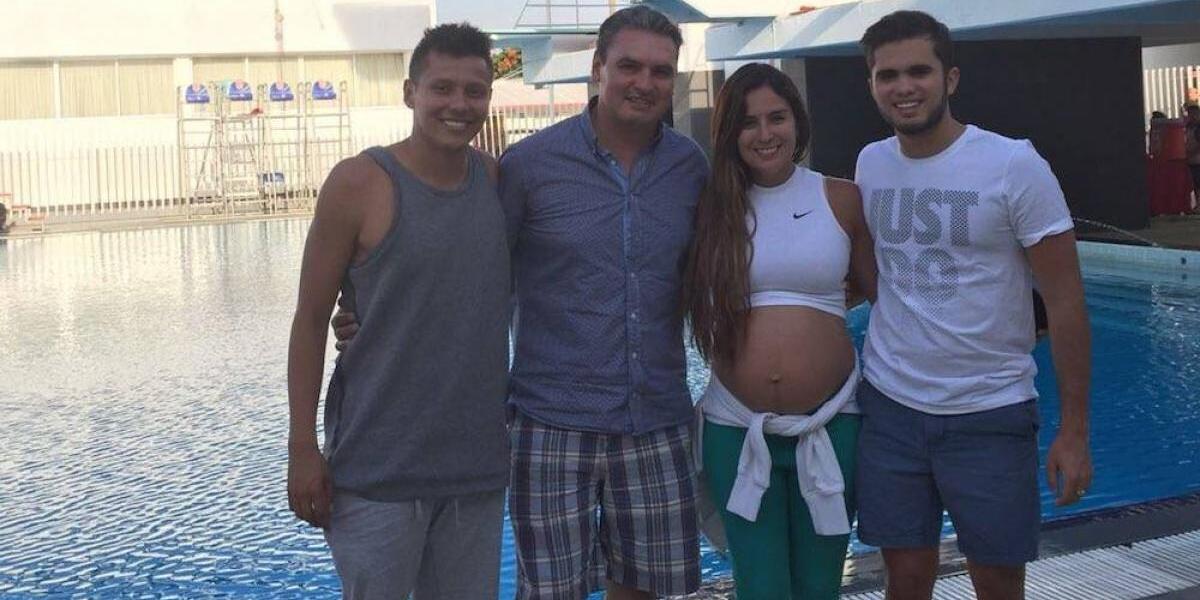 Después del nacimiento de su hija, Paola Espinosa entrenará de la mano de Iván Bautista