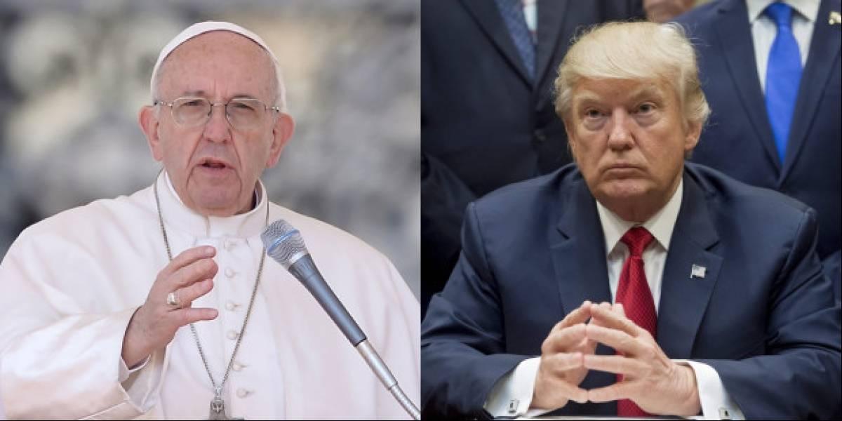 A un día de la reunión, estos son los principales roces que han tenido Donald Trump y el Papa Francisco