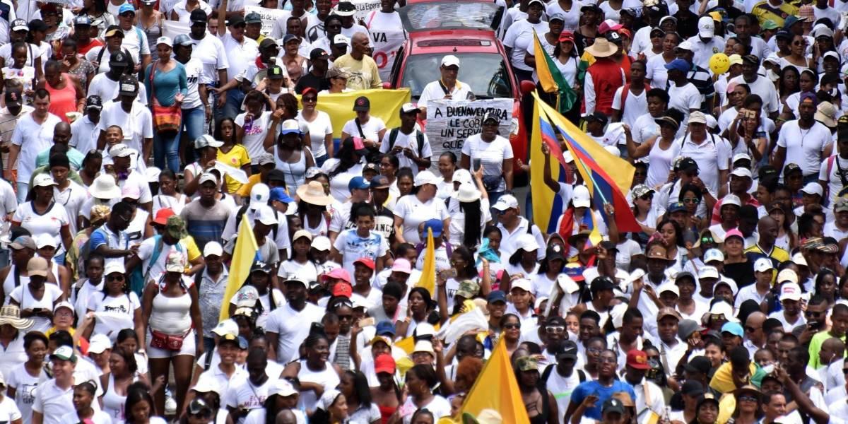 Comisiones del Gobierno buscan poner fin a los paros en Chocó y en Buenaventura