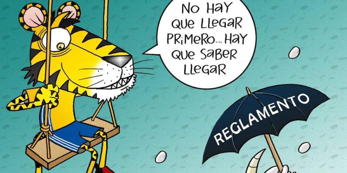 En la gran final, el reglamento no ayudará a Chivas; el cartón del día