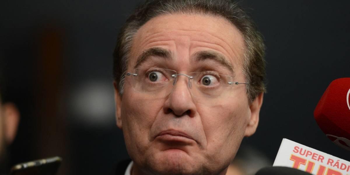 Presidência do Senado: Indignado, Renan Calheiros retira a candidatura 'Não sou o Jean Wyllys'