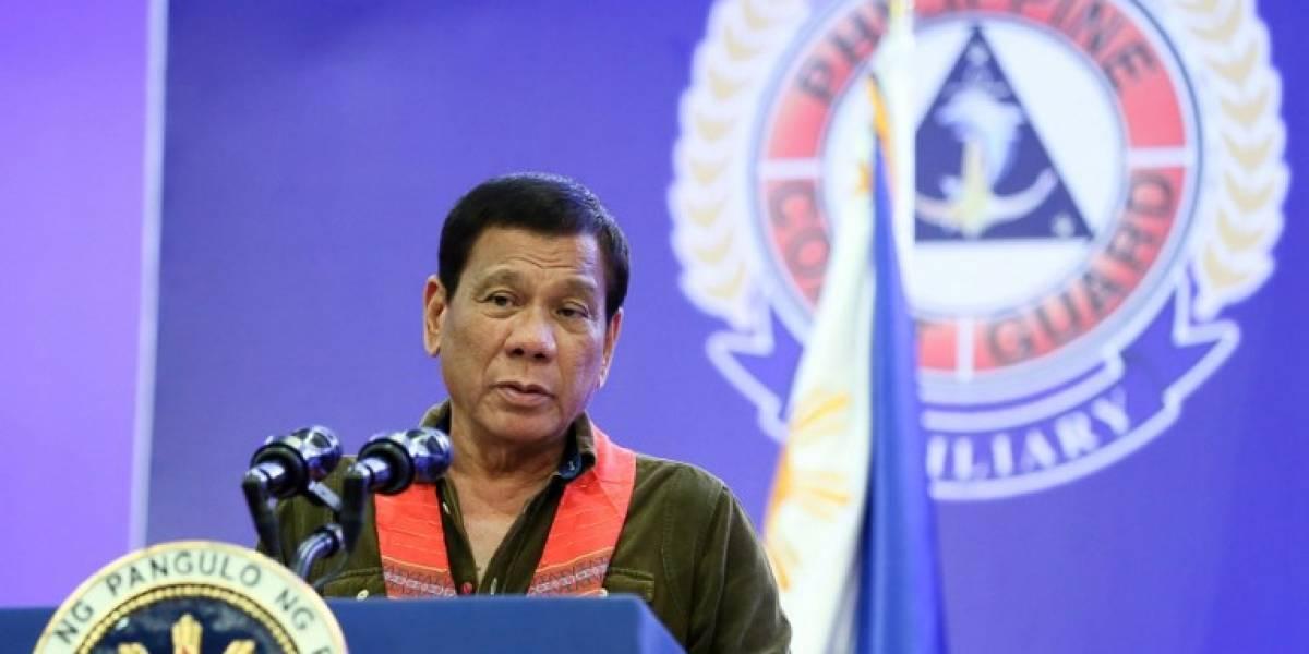 Duterte declara la ley marcial en el sur de Filipinas