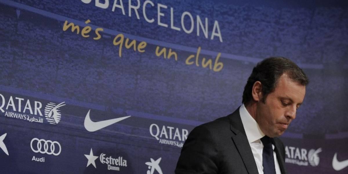 Sandro Rosell, expresidente del Barcelona, detenido por blanqueo de capitales