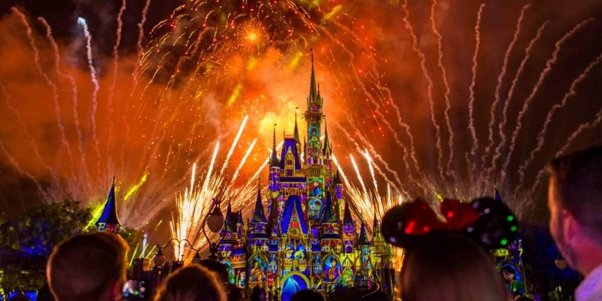 Espectaculares shows nocturnos en Magic Kingdom