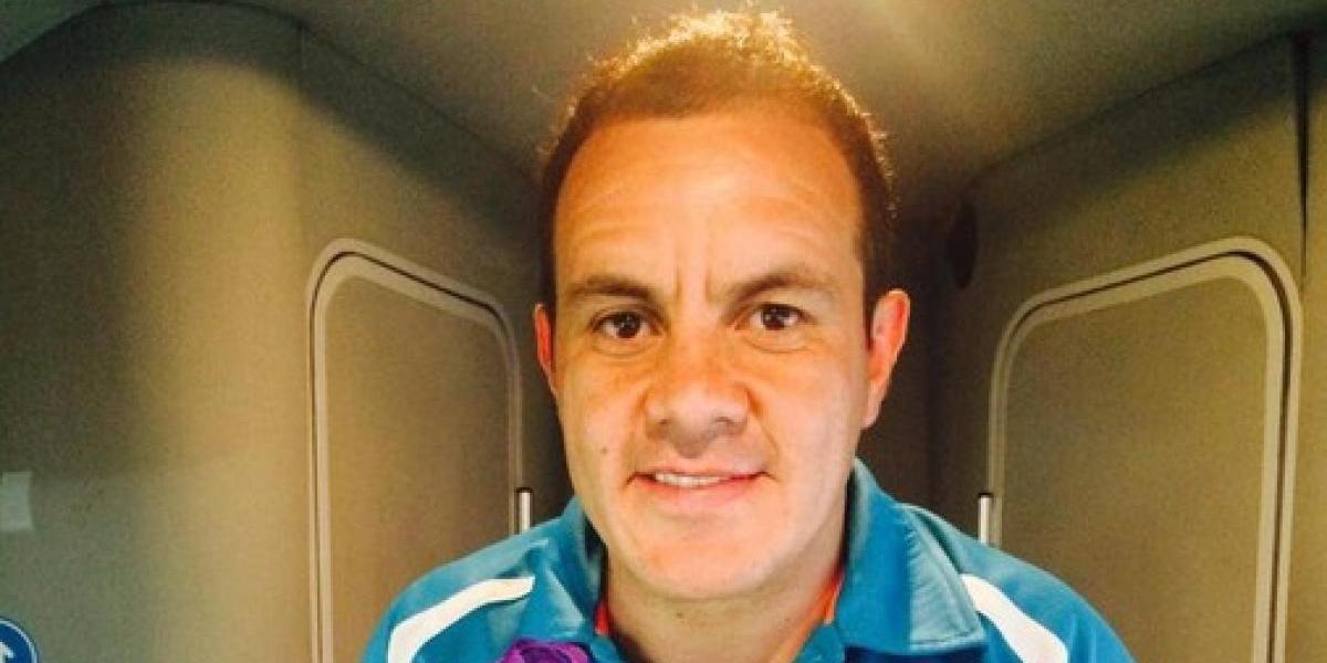 Cuauhtémoc Blanco jugará en la despedida del Vicente Calderón