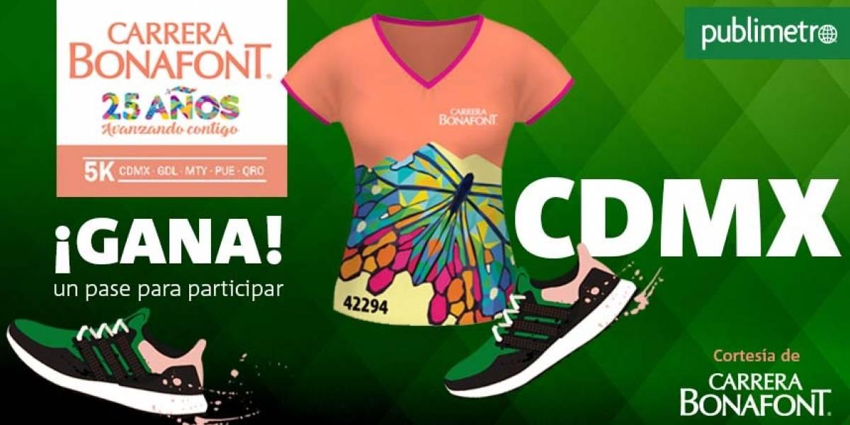 ¡Gana! pase para correr… en CDMX