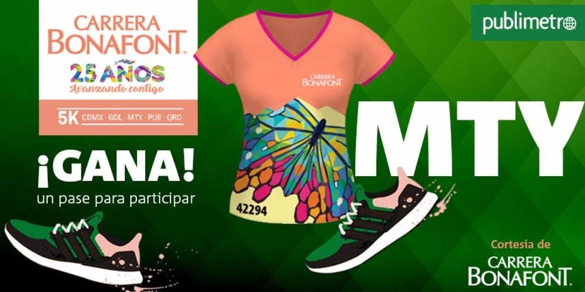 ¡Gana! pase para correr… en Monterrey