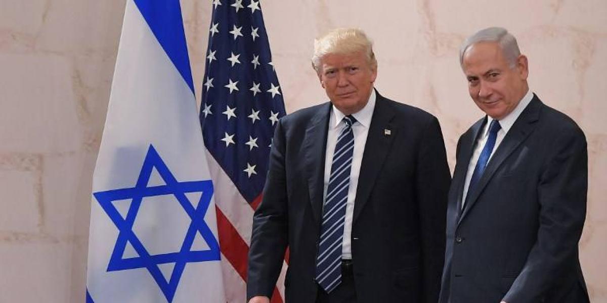Trump llama a israelíes y palestinos a hacer compromisos por la paz