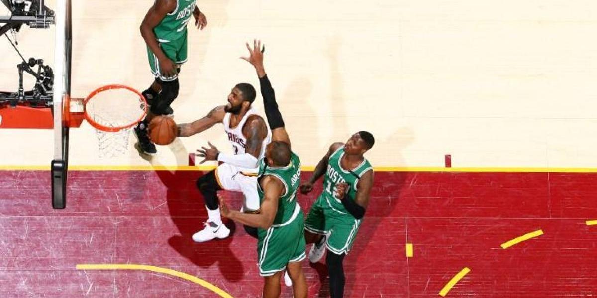 Las notables jugadas de Kyrie Irving para poner a los Cavaliers a un paso de la final de la NBA