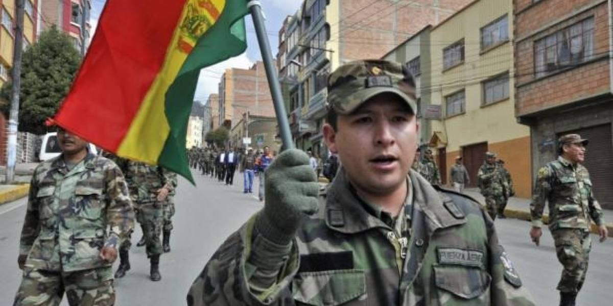 """Ejército boliviano diseña plan para sentar soberanía en la frontera ante """"agresión económica"""" de Chile"""