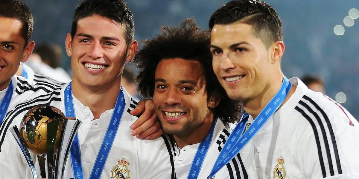 James habría rechazado el apoyo de Cristiano y Marcelo, pensaría salir de Real Madrid