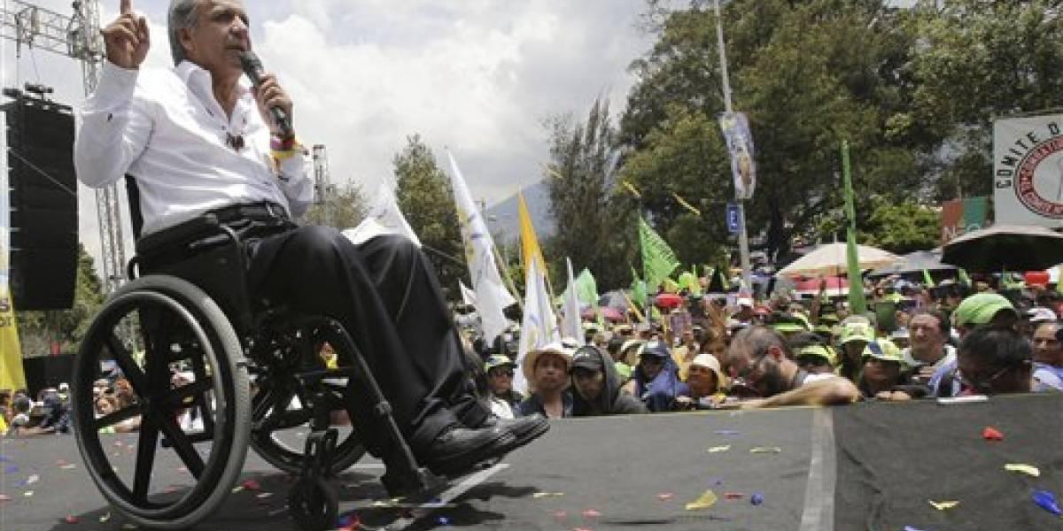 Lenín Moreno asume cargo como presidente de Ecuador