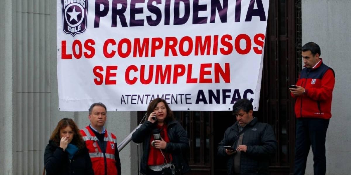 Asociación de Funcionarios de Aduanas informó adhesión del 95% al paro