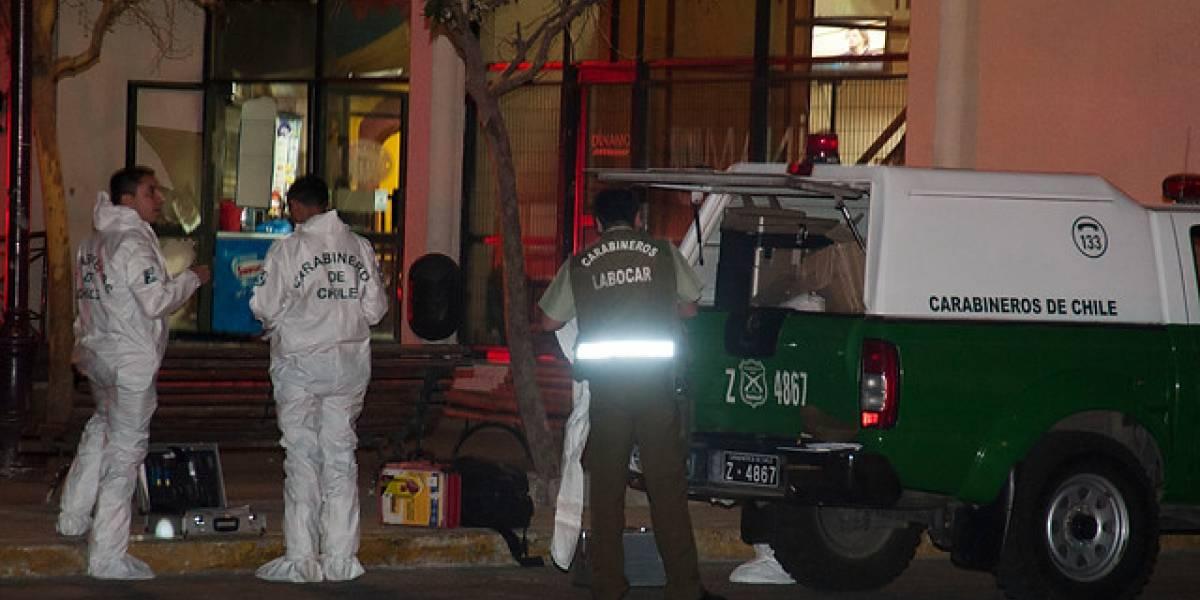 Temuco: el inusual método de fuga de ladrones tras robar $50 millones desde cajero automático