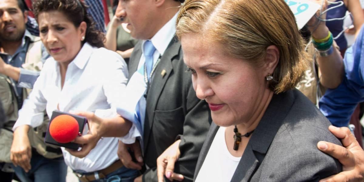 Eva Cadena se declara inocente en comparecencia ante diputados