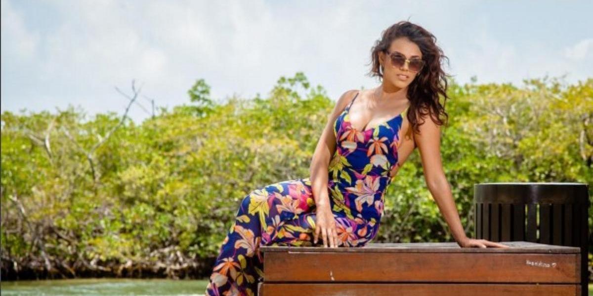 Virginia Argueta muestra sus atributos delanteros en una sexy foto en bikini