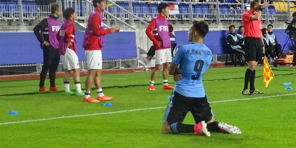 Uruguay deja atrás bochornoso momento y clasifica a los octavos del Mundial Sub 20
