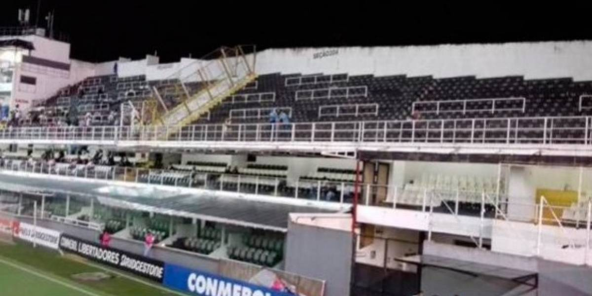 Hinchas fieles: apenas tres fanáticos peruanos alentaron a Sporting Cristal en duelo de Libertadores