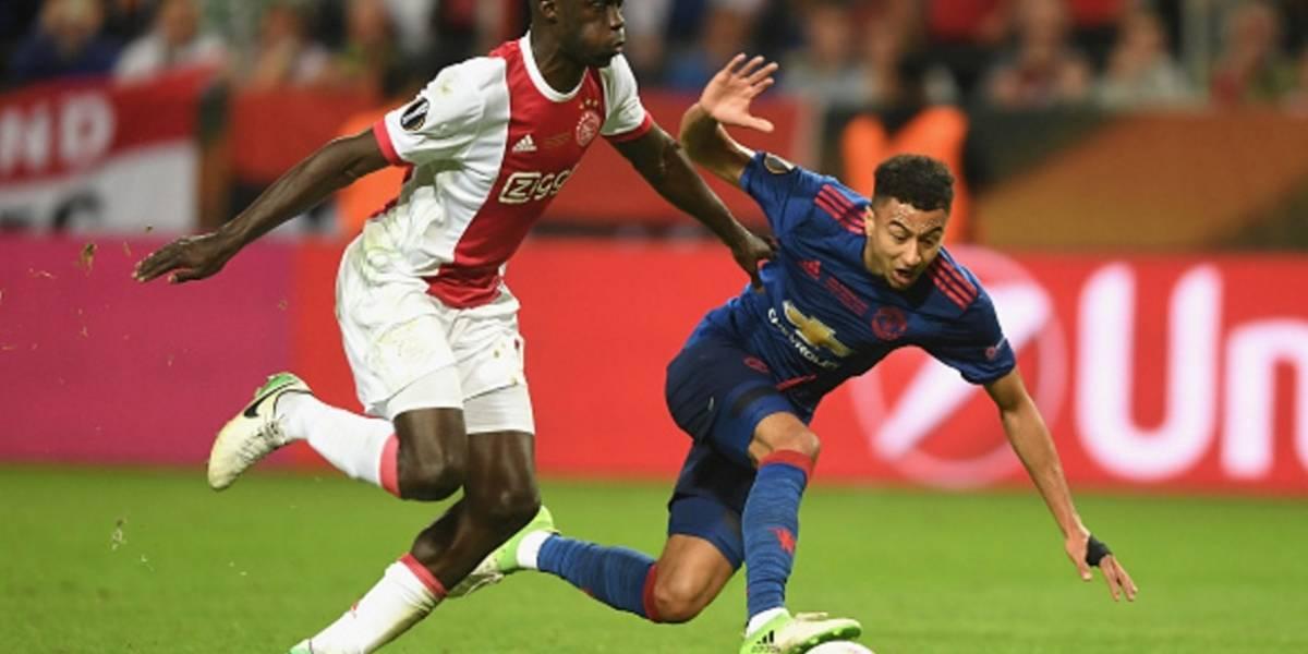 Aunque Ajax perdió, Davinson se destacó en la final de la UEFA Europa League