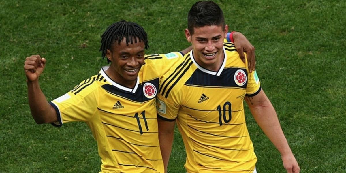 Cuadrado habló del futuro de James y la final de Champions League