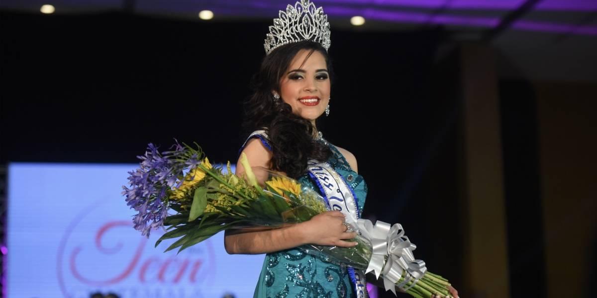 Alumna del Colegio Capouilliez deslumbra como la nueva Miss Teen Guatemala 2017