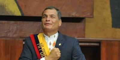 Internado por neumonía expresidente de Ecuador Rafael Correa