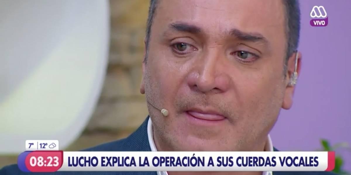 """Luis Jara explicó entre lágrimas la operación que lo mantendrá alejado de la TV: """"Mi mayor miedo es quedar sin voz"""""""