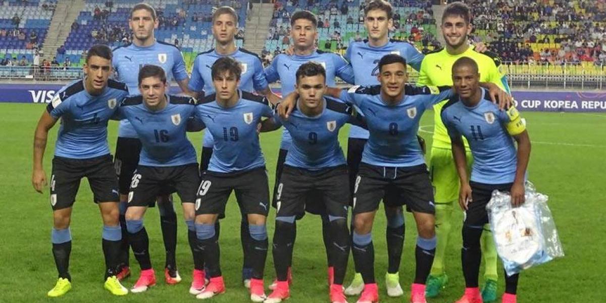 VIDEO: Se equivocan con el himno de Uruguay en Mundial Sub 20