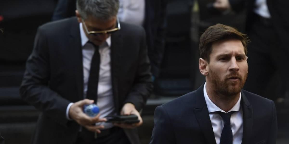 Confirman la sentencia de 21 meses de cárcel para Messi por fraude fiscal