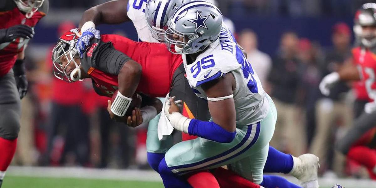 NFL suspende cuatro juegos a David Irving, jugador de Vaqueros