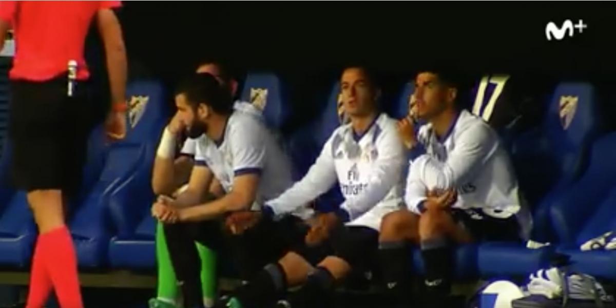 El video más divertido de la banca del Real Madrid