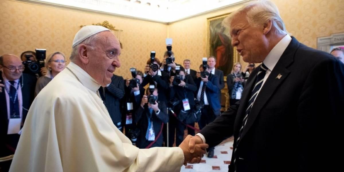EN IMÁGENES: El encuentro entre Trump y el Papa en el Vaticano