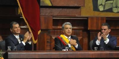 Rafael Correa sale del hospital HCAM recuperado de neumonía